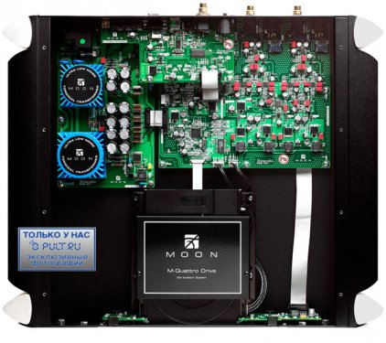 CD проигрыватель Sim Audio MOON 650D black / blue display