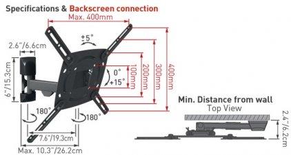 Кронштейн для телевизора Barkan E330.B
