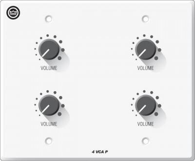 Панель Crown 4VCAP Настенная панель регулятора громкости