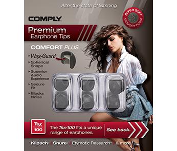 Comply Tsx-100 Black Medium (3 пары)
