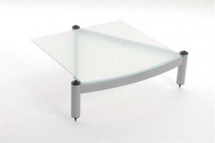 Atacama EQUINOX RS Single Shelf Module Hi-Fi - 195mm White/ARC glass
