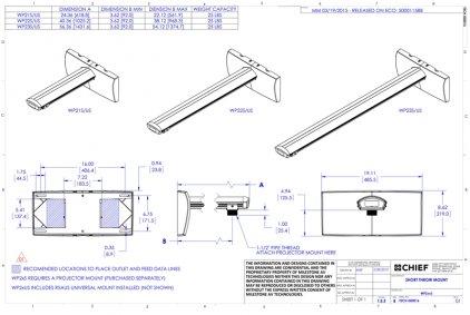 Крепление для проектора Chief WP22S