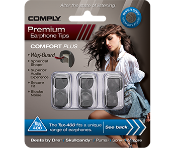 Амбушюры Comply Tsx-400 Black Small (3 пары)
