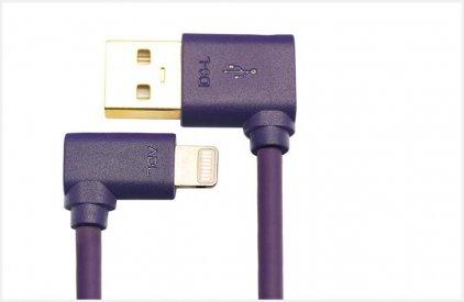 Кабель ADL iD8-A 0.10m Lightning connector to USB-A