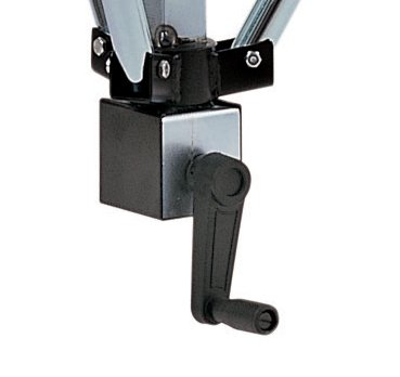 """EuroMet BS/60-A Стойка для громкоговорителей до 70кг, с треногой (одна """"нога"""" телескопическая) и механизмом для подъема, сталь с гальваническим покрытием. h:1290-2040mm."""