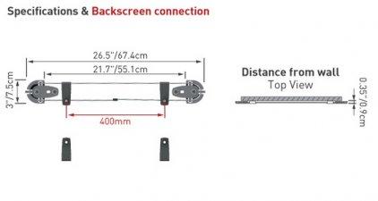 Barkan Model W0 (настенное фиксированное крепление для те