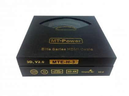 Кабель MT-Power HDMI 2.0 ELITE 0.8m