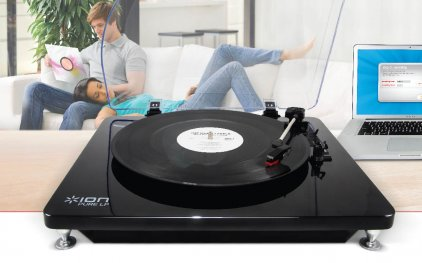 ION Audio Pure LP black
