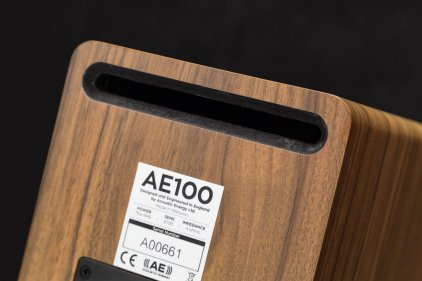 Acoustic Energy AE 100 (2017) Walnut vinyl veneer