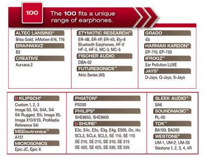 Comply S-100 CH-Asst. (3 пары)