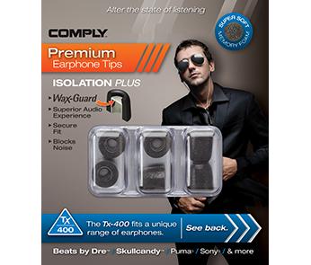 Амбушюры Comply Tx-400 Black Medium (3 пары)