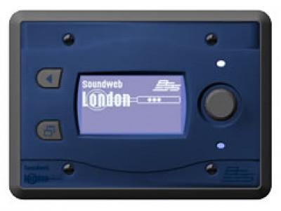 BSS BSS BLU10 программируемая настенная панель управления для серии BLU. Цвет синий