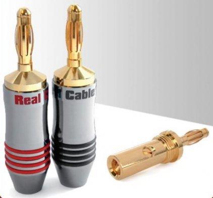 Разъем Real Cable B7210-2C (банан)