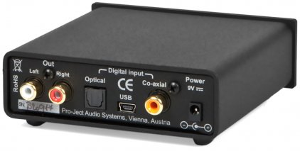ЦАП Pro-Ject DAC BOX S USB black