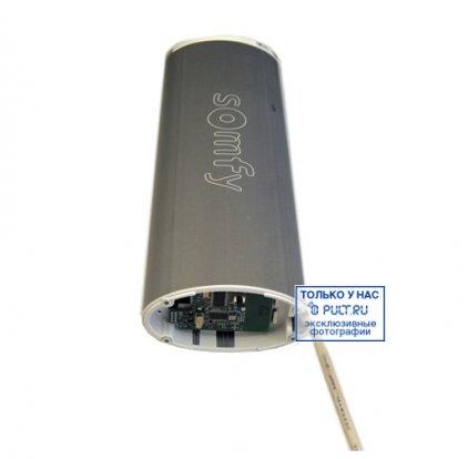 Умные шторы Somfy Карниз с электроприводом Glydea 35 DCT/ WT длина 1.5 м