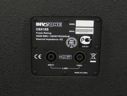 Сабвуфер пассивный Invotone DSX18S