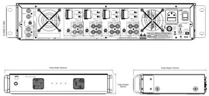 NAD CI 980 AMP