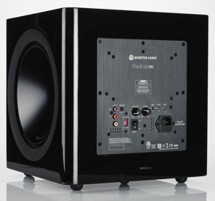 Monitor Audio Radius 390 black gloss