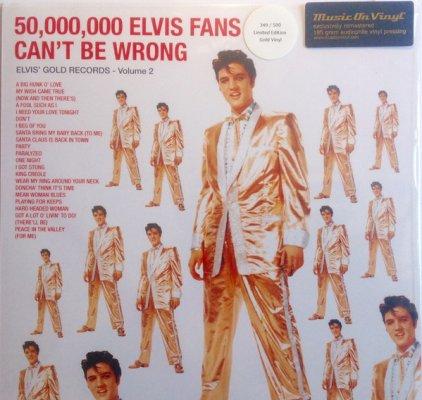Elvis Presley 50,000,000 ELVIS FANS CAN'T BE WRONG (ELVIS' GOLD