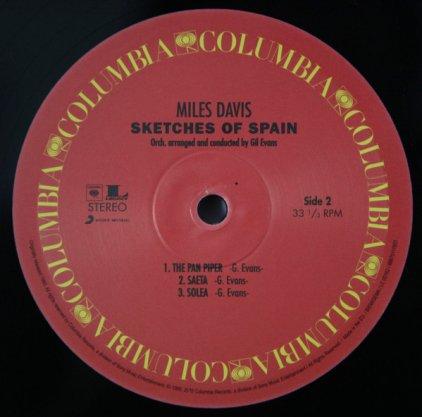 Виниловая пластинка Miles Davis SKETCHES OF SPAIN (180 Gram)