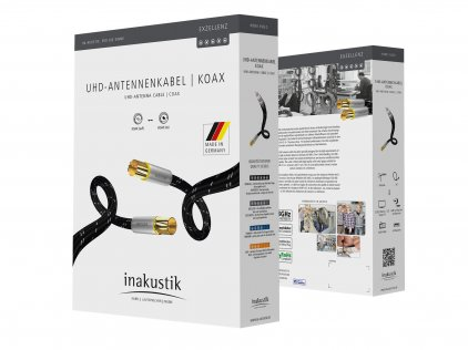Антенный кабель In-Akustik Exzellenz UHD Antenna 3 GHz\120 dB 1.5m #006263015