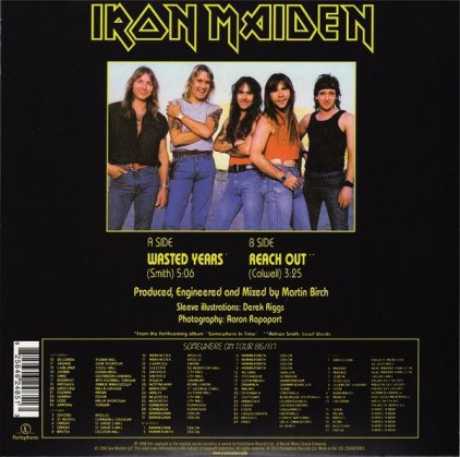 Iron Maiden WASTED YEARS (Limited)