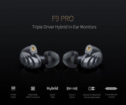 Наушники FiiO F9 Pro Titanium