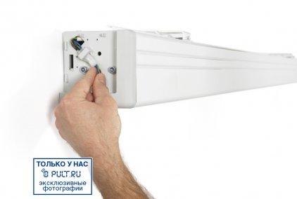 "Projecta Elpro Electrol 183x240 cm. (113"") Matte White с эл"
