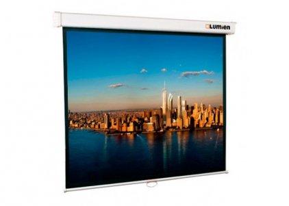 Lumien Master Picture 128х220 см Matte White FiberGlass (белый корпус)