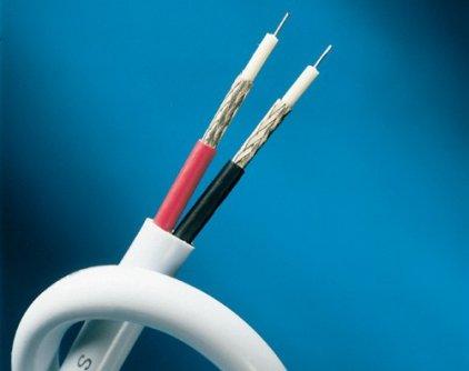 Supra A/V interconect BiLine Cable 1m (Spool)