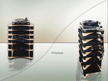 Модульная подставка под аппаратуру Antall High-End (4 полки)