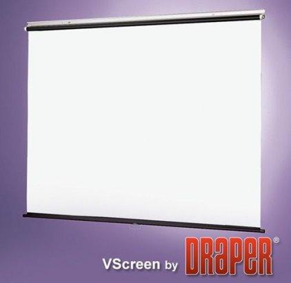 """Draper Draper VScreen AV (1:1) 96/96"""" 244*244 XT1000E (MW)"""