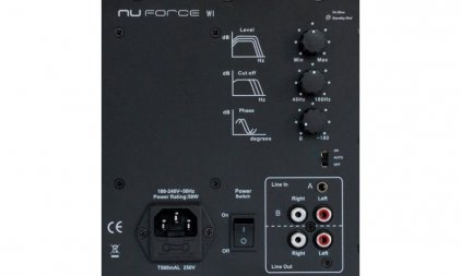 Сабвуфер NuForce W-1 silver