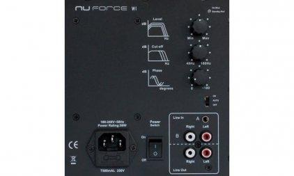 NuForce W-1 silver