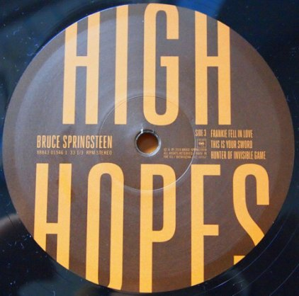 Bruce Springsteen HIGH HOPES (2LP+CD/W530)