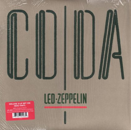 Led Zeppelin CODA (Deluxe Edition/Remastered/180 Gram/Tri-fold sleeve with three pockets)