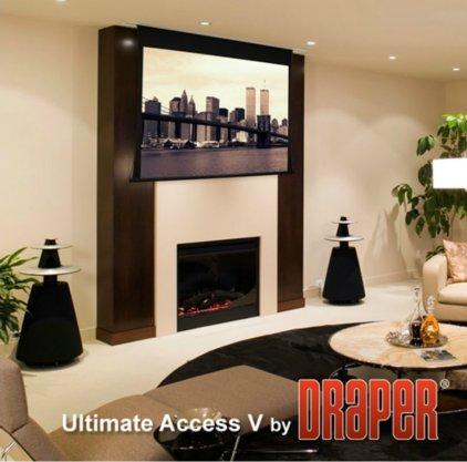 """Draper Access/V HDTV (9:16) 409/161"""" 201*356 XH600V ebd 12"""""""