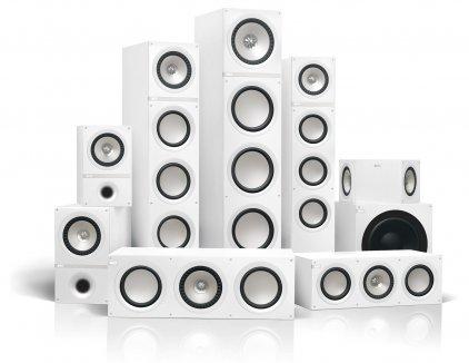 Настенная акустика KEF Q800DS White vinyl