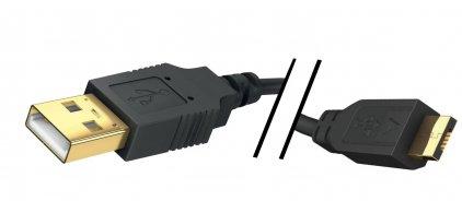 In-Akustik Premium High Speed USB Micro 2.0, 2.0m #01070042