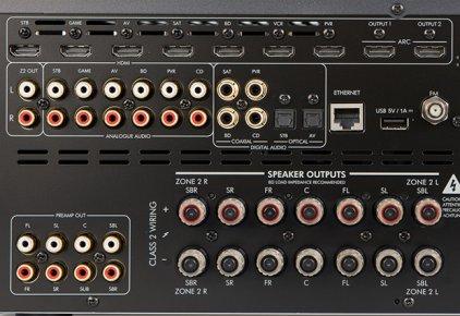 Arcam FMJ AVR380 black