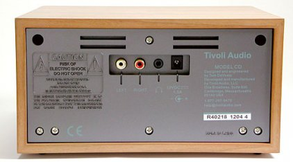 Tivoli Audio Model CD piano black/silver (MCDPIANOB)