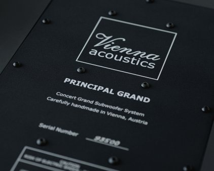 Vienna Acoustics Principal Grand cherry