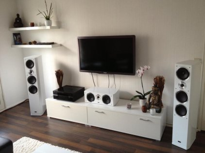 Напольная акустика Heco Celan GT 702 piano white