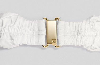Наушники MOLAMI Twine white & gold
