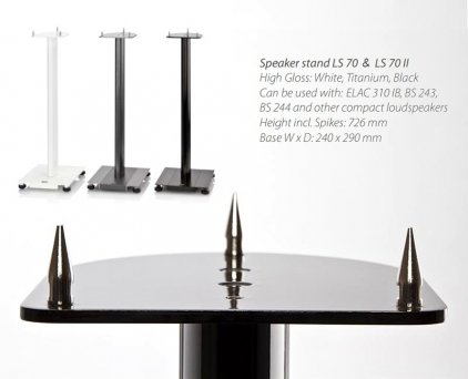 ELAC Stands LS 70 (стойка для BS 203 высота 69.5-72.6 с