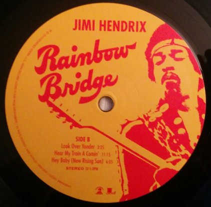 Jimi Hendrix RAINBOW BRIDGE (180 Gram/W340)