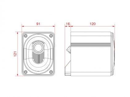 Комплект акустики Elac Micromagic 2.1 high gloss white
