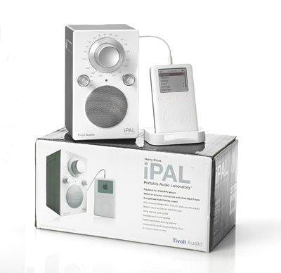 Радиоприемник Tivoli Audio Portable Audio Laboratory IPAL High Gloss Green (PALIPALGG)