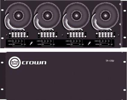Crown Crown TP-170V встраиваемая панель трансформаторов