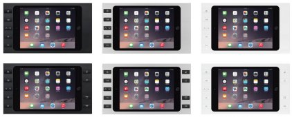 iPort SURFACE MOUNT BEZEL WHITE WITH 10 BUTTONS (For iPad Mini 4)
